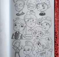 Тумблер рисунки для срисовки для скетчбука