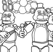 Как выглядят аниматроники из фнаф